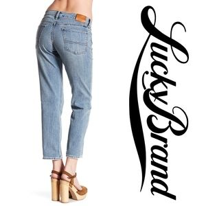 """LUCKY BRAND   """"Sweet Crop"""" Mid Rise Jeans"""